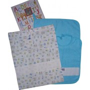 Kindergarten Ready to Stitch Friends - Turquoise