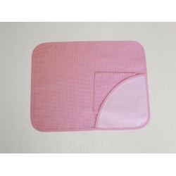 Ready to Stitch Placemat - Pink