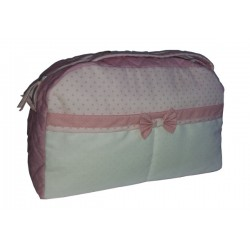 Baby Nursery Bag - Pink with Little Stars