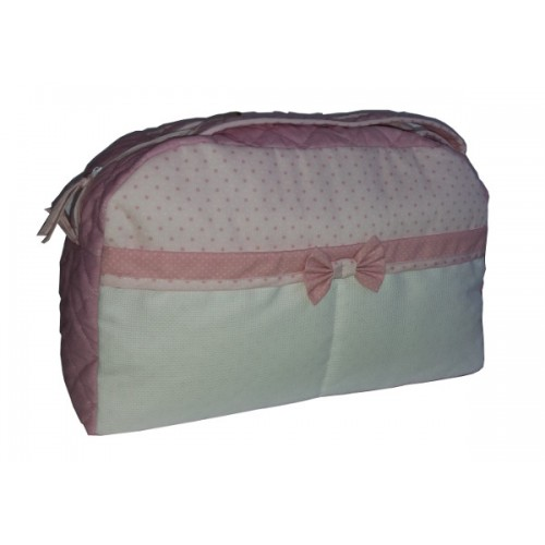 Borsa Nursery Rosa - Piccole Stelline