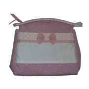 Trousse Ready to Stitch Little Stars - Pink