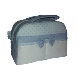 Beauty Case Ready to Stitch Little Stars - Light Blue