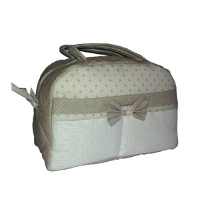 Beauty Case Tortora - Piccole Stelline