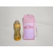 Pink Soft Baby Bottle Holder