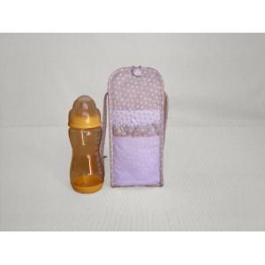 Cream Soft Baby Bottle Holder