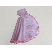 Baby Terry Cape - Pink - My First Linen