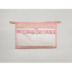 Trousse Ready to Stitch - Pink - My First Linen