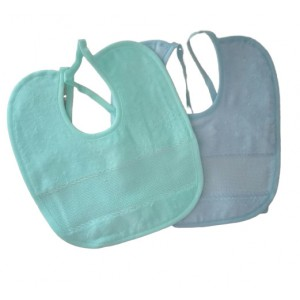 Stitchable Terry Baby Bib
