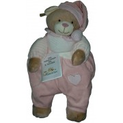 Teddy Bear Pajamas Case - Pink