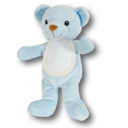 DMC Baby - Ready to Stitch Teddy Bear - Light Blue