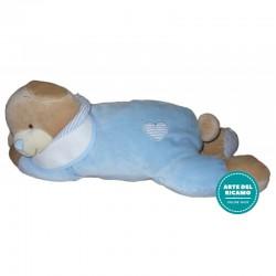 Pajama Bear Bag - Light Blue