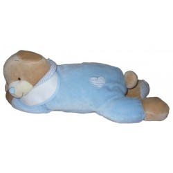 Pajama Bear Bag - Light Blue