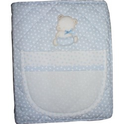 Ready to Stitch Baby Photo Album - Light Blue