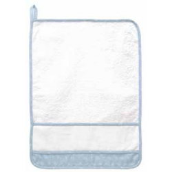 DMC -  Kindergarden Towel - Ready to Stitch - Light Blue - Art. RS2127