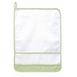 DMC -  Kindergarden Towel - Ready to Stitch - Green - Art. RS2127