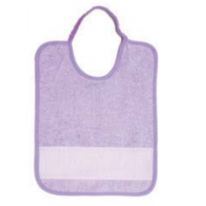 Terry Baby Bib with Aida Band - Emma