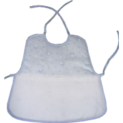 Lunch Baby Bib to Cross Stitch - Bees