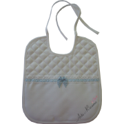 Soft Bib for your Baby - Vichy Line - Blue