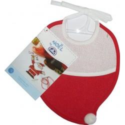 DMC - Babero de Navidad a forma de Sombrero