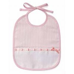 DMC - Babero para Bebè de 6 Meses - Color Rosa - Art. RS1968