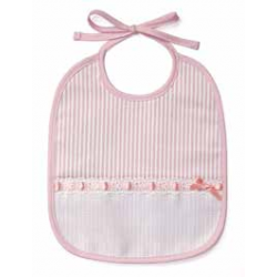 DMC - Baby Bib - 6 Month - Pink - Art. RS1968