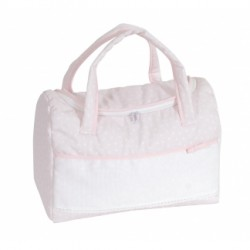 DMC - Stitchable Nursery Bag - Pink - My First Joy