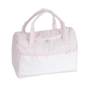 DMC - Stitchable Nursery Bag - Pink - My First Joy