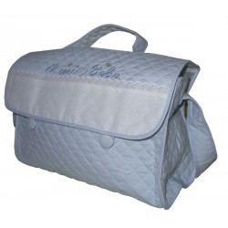 Stitchable Nursery Bag - My Baby - Light Blue