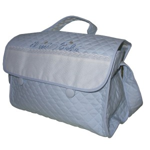 Stitchable Nursery Bag - My Baby - Light Blue