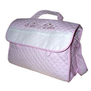 Stitchable Nursery Bag - My Baby - Pink