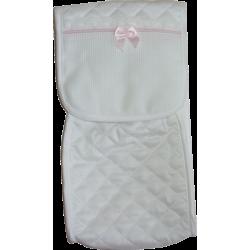 Pink Soft Baby Bottle Holder - Snow Line