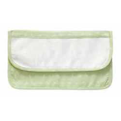 DMC - Kindergarden Cultery Pouch - Ready to Stitch - Green - Art. RS2128