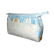 Trousse Ready to Stitch - Baby Fancy - Light Blue