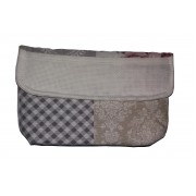 Cosmetic Pouch to Cross Stitch - Average Size - Roses