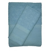 Stafil - Terry Bath Towel with Aida Band - Ready to Stitch - Claudia