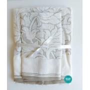 DMC - Coppia Asciugamani Spugna da Ricamare - Lino e Cotone - Art. CL111L