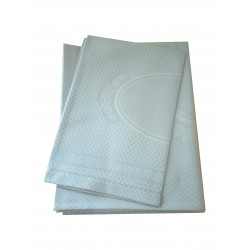 Couple of Bath Towels with Hemstitch - Light Blue