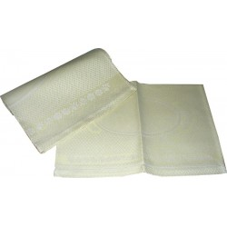 Couple of Bath Towels with Hemstitch - Light Green