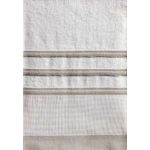 DMC - Coppia Asciugamani Spugna da Ricamare - Lino e Cotone Art. CL050L