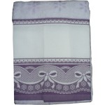 Terry Bath Towel with Aida Border - Sangallo