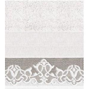 DMC - Coppia Asciugamani Spugna da Ricamare - Lino e Cotone Art. CL072L
