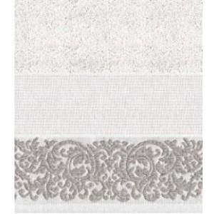 DMC - Coppia Asciugamani Spugna da Ricamare - Lino e Cotone Art. CL073L