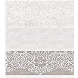 DMC - Coppia Asciugamani Spugna da Ricamare - Lino e Cotone Art. CL074L