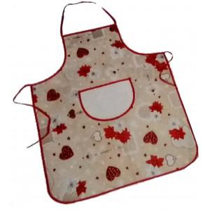 Christmas Apron with Aida Band to Cross Stitch