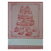 Kitchen Towel Cake - Red