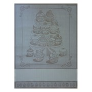 Kitchen Towel Cake - Cream