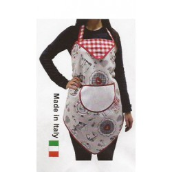 Kitchen Apron to Cross Stitch - Coffee and Hearts