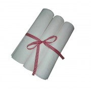 Pack of 3 Cotton and Linen Kitchen Towel