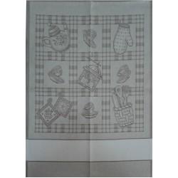 Strofinaccio Cucina Macinino - Tortora