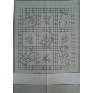 Kitchen Towel Coffee - Turtledove